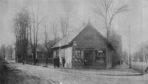 Oskar Davidsens kendte vinstue på hjørnet af Vesterbrogade og Rahbeks Allé. Stedet blev i 1909 skueplads for et rovmord.