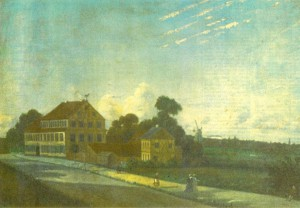 Da alt endnu åndede idyl: Sorte Hest var oprindeligt et gæstgiveri, opført i 1771. Her kunne udasede rejsende hvile ud, inden de kørte ind til hovedstaden. Først lang tid senere blev gæstgiveriet opslugt af det nye Vesterbro.