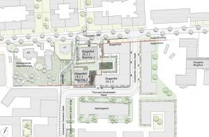 Endelig vedtagelse af lokalplan for Rahbeks Alle 15-17 og gade til Carlsbergbyen